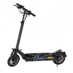 """Patinete eléctrico con ruedas de 20"""" y 16"""" smartgyro Lobo."""
